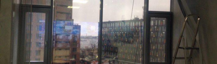 Тонировка окон в СПб, квартир, офисных и коммерческих помещений.